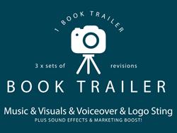 Book Trailer + Voiceover + Extras + promo